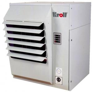 Калорифер настенный с атмосферной горелкой Kroll N 34