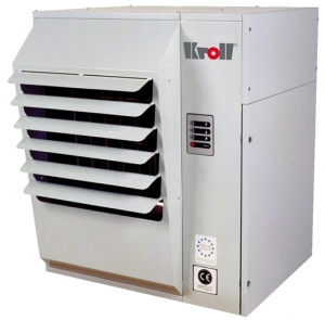 Калорифер настенный с атмосферной горелкой Kroll N 74