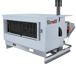 Калорифер с атмосферной горелкой Kroll NKA 92 (для наружной установки)