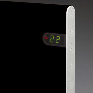 Конвектор ADAX NL 08 KDT Black с электронным термостатом