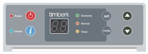 Конвектор с электронным термостатом Timberk TEC.PS1 LE 2500 IN