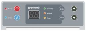 Конвектор с электронным термостатом Timberk TEC.PS1 RCE 1500 IN
