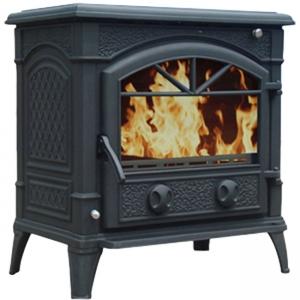 Печь-камин Литком HAROLD Boiler