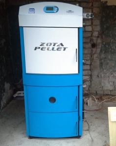 Твердотопливный котел ZOTA Pellet 40A